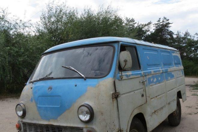 ЕрАЗ-762В до восстановления