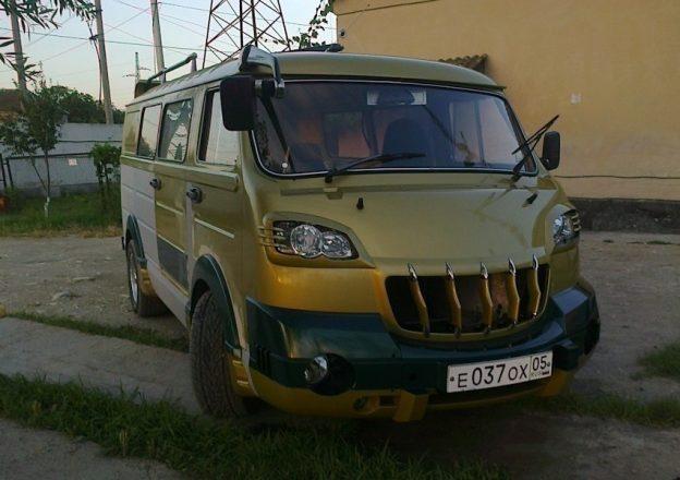 Восстановленный ЕрАЗ-762В