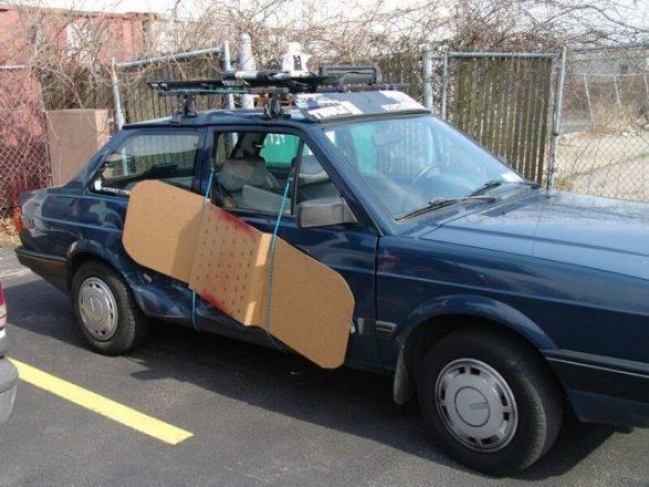 Пластырь для машины