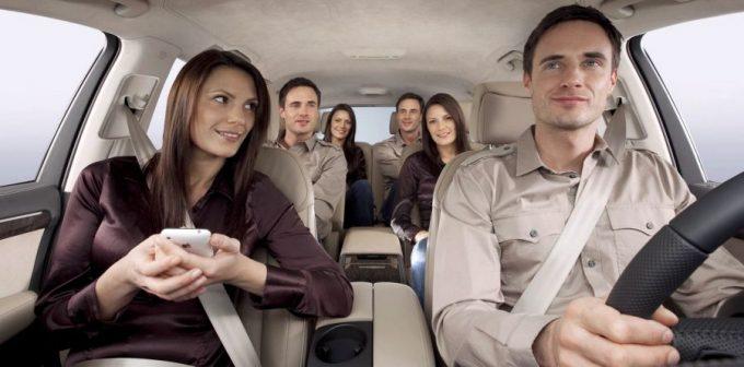 Пассажиры в автомобиле
