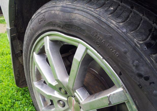 Искривленные диски колес