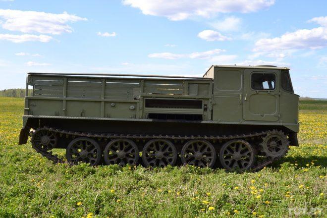 АТС-59Г на гусеничном ходу
