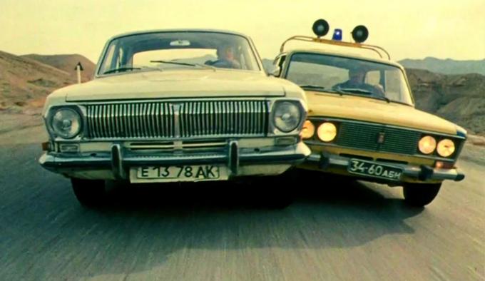 Кадр из фильма «Двойной обгон»