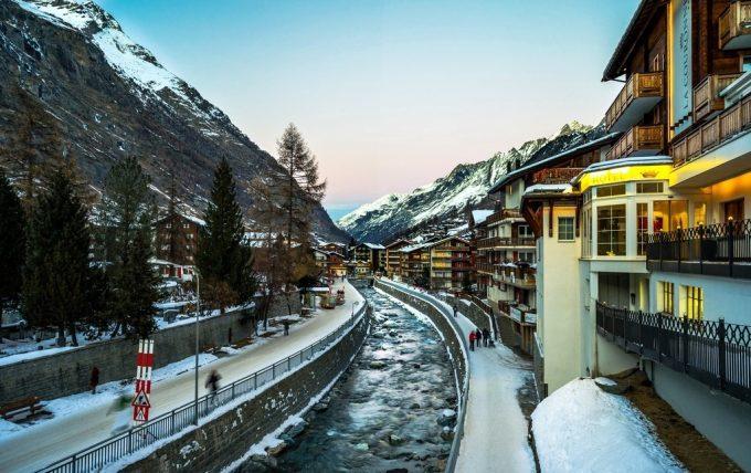 Церматт в Швейцарии