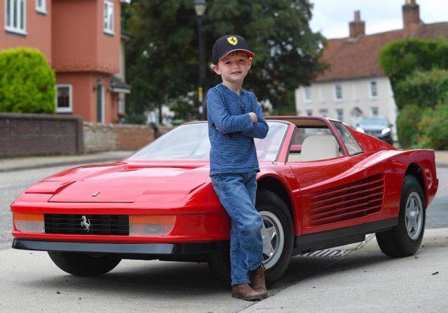 Самая дорогая детская машина