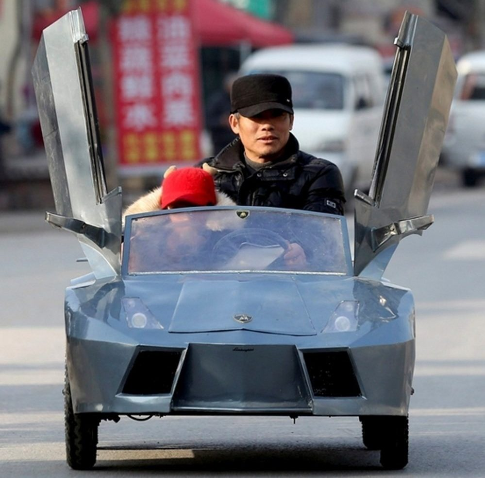 Машина Old Guo