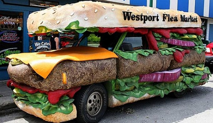Автомобиль-бургер