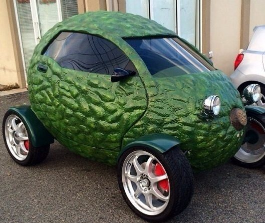 Автомобиль-авокадо
