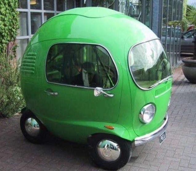 Автомобиль-яблоко