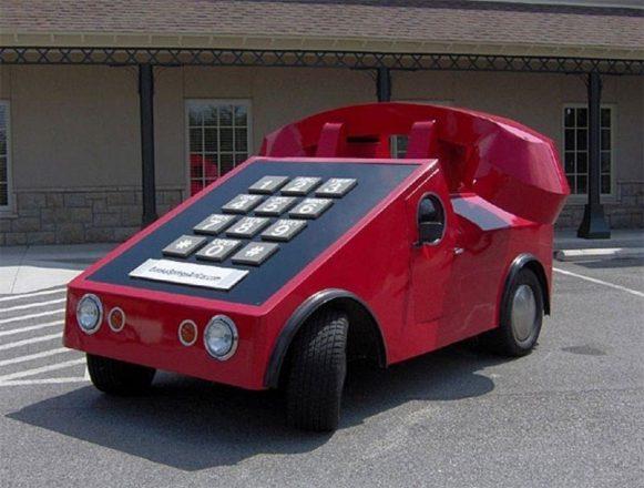 Автомобиль-телефон