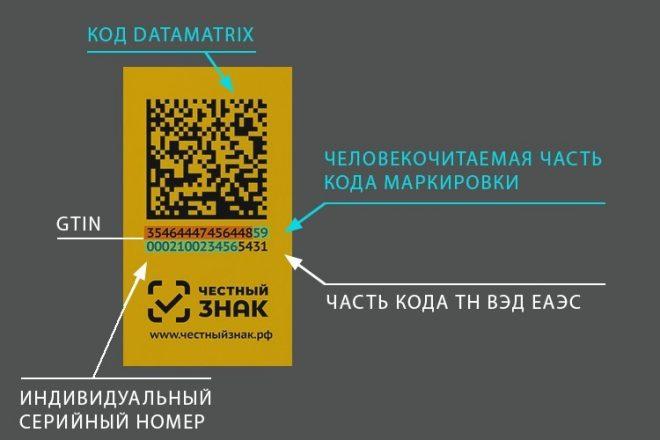 Информация на штрих-коде