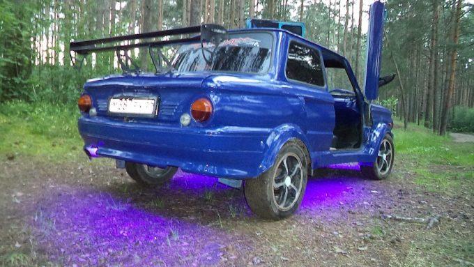 Тюнингованный автомобиль