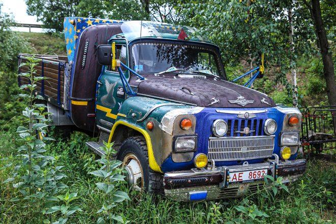 Тюнинг старого грузовика