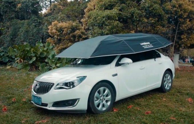 Зонт от солнца для машины