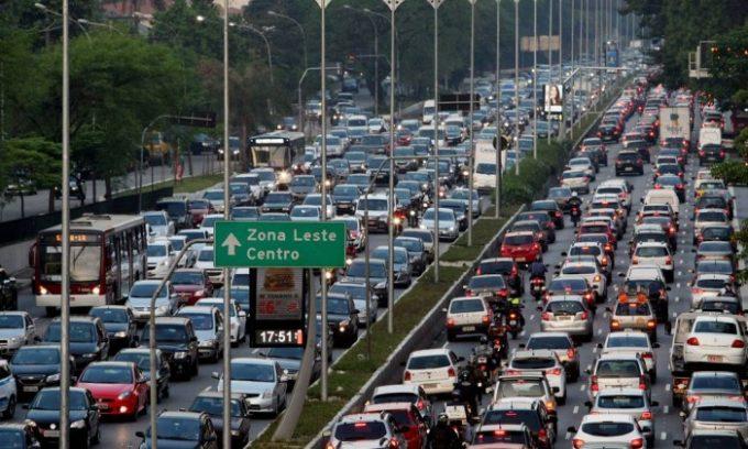 Автострада в Бразилии