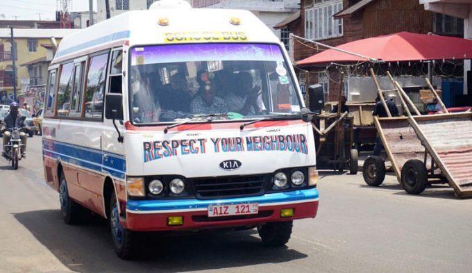 Автомобиль в Сьерра-Леоне