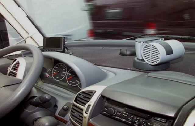Автомобильный мини-кондиционер в машине
