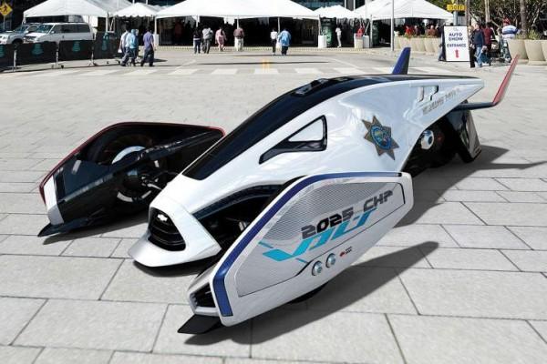Полицейский автомобиль, представленный на автовыставке 2020 года
