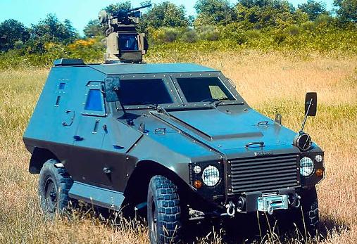 Военный бронеавтомобиль «Akrep»