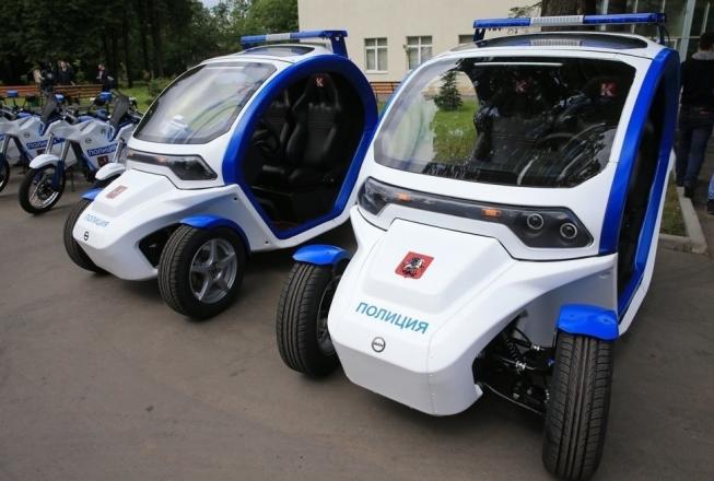Полицейский электромобиль «Овум»