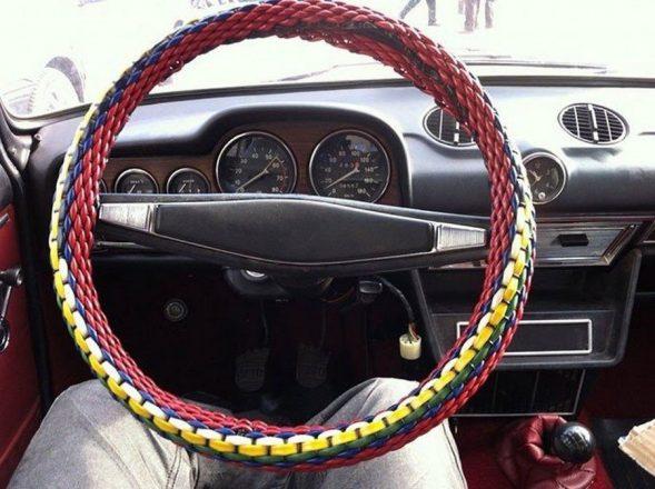 Оплетка руля машины