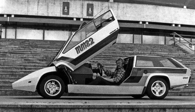 Авторский автомобиль Панголина