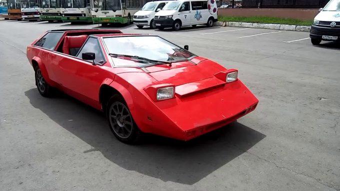 Автомобиль Панголина