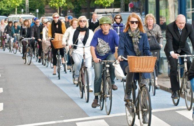 Велодорожки в Копенгагене