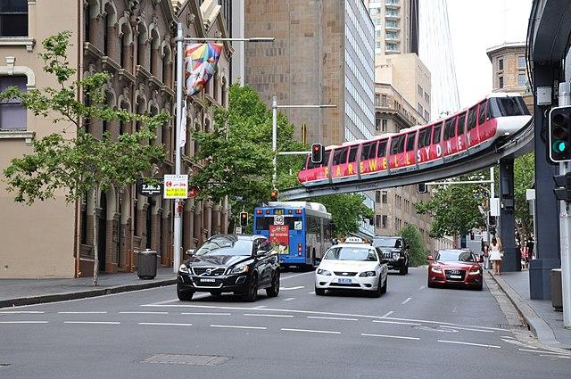 Дорога в Сиднее