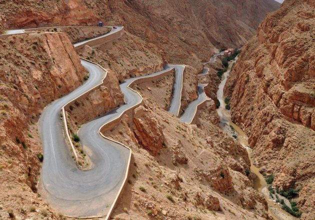 Ущелье Дадес, Марокко