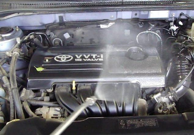 Мойка двигателя авто