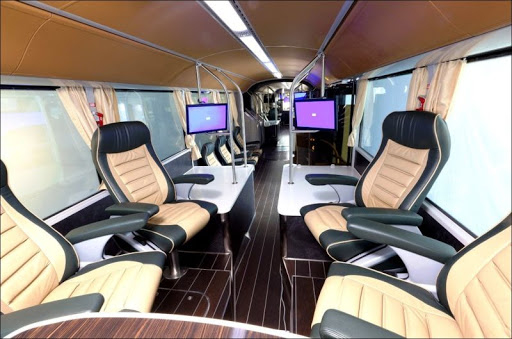 Элитный автобус из Саудовской Аравии