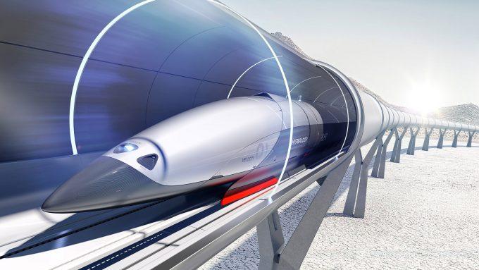 Вакуумные поезда Hyperloop