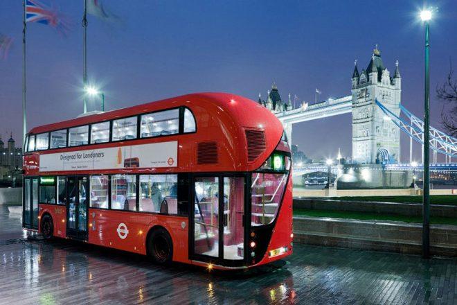 Новый лондонский автобус