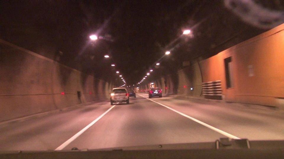 Проезд в тоннеле