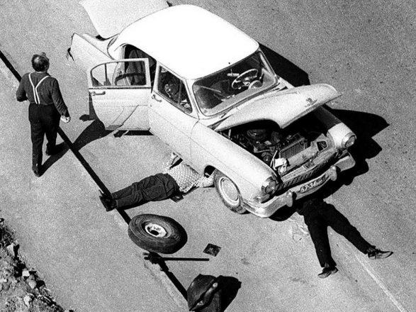 Ремонт советского авто