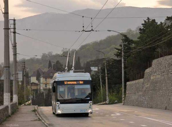 Крым троллейбус