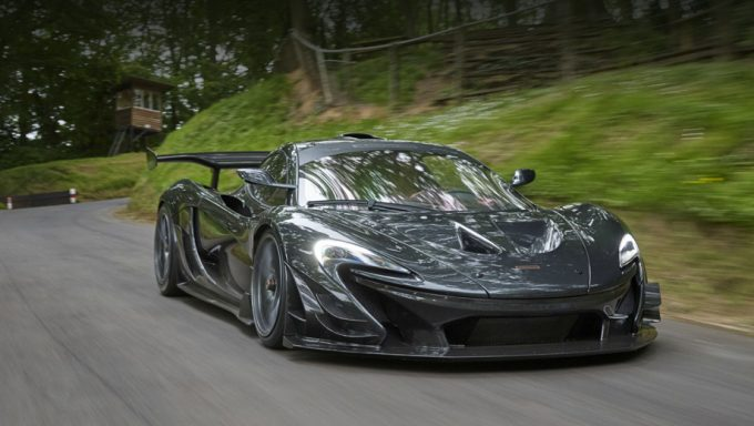McLaren P1 LM/