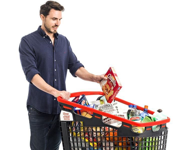 Мужчина-супермаркет