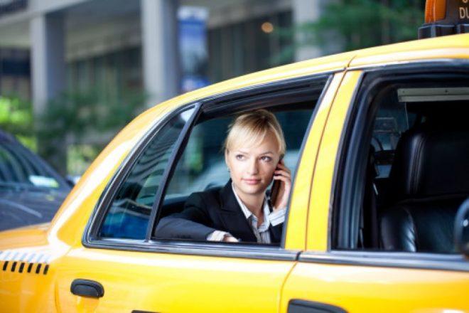 Такси-блондинка