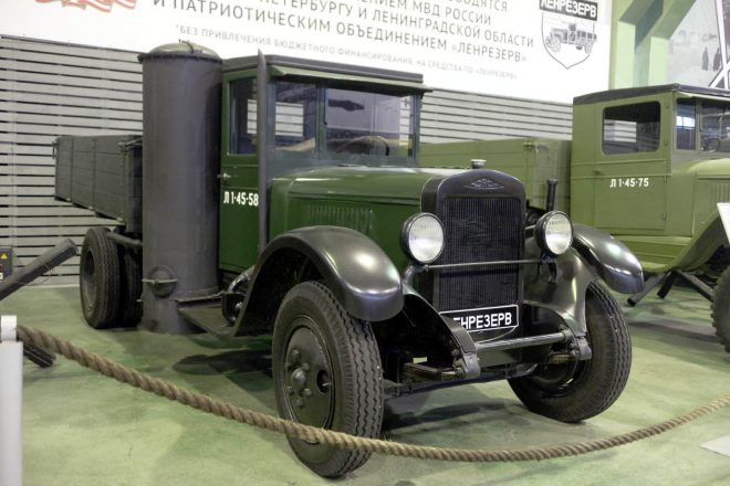 Газогенераторный автомобиль.