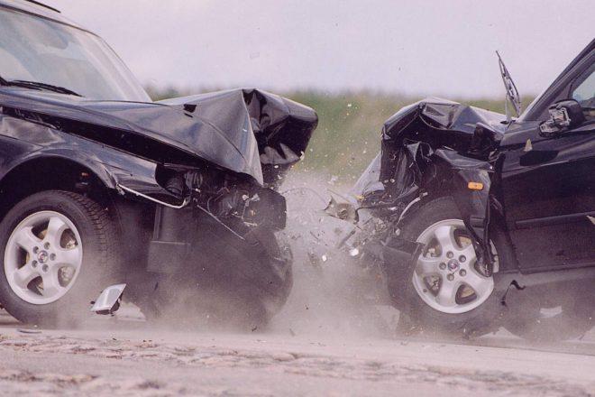 Столкновение авто.