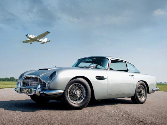 Aston Martin 007.