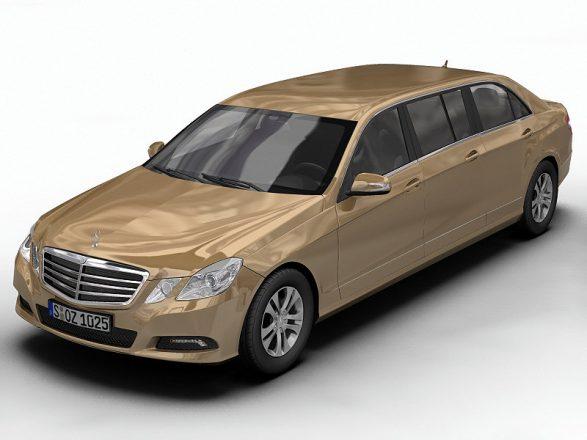 Mercedes-Benz E-Class с шестью дверями.