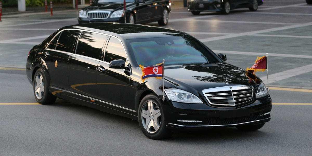 Mercedes-Benz Pullman s600 Guard w221