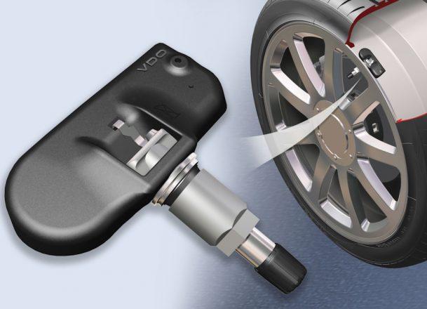как выглядит датчик давления в шинах