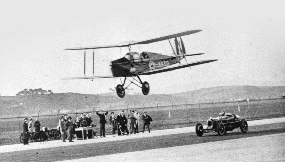 Гонка с самолётом 1931 год.