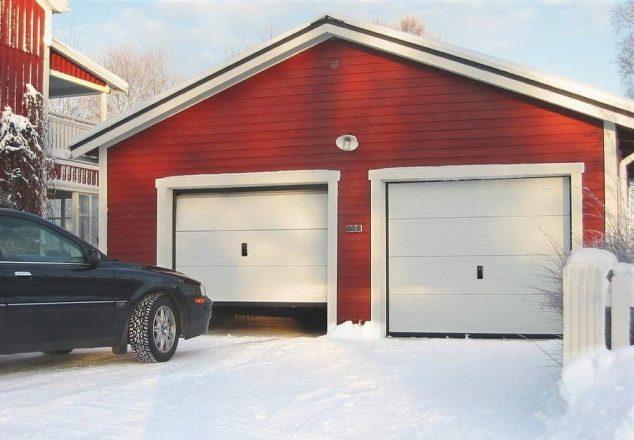 Тёплый гараж.