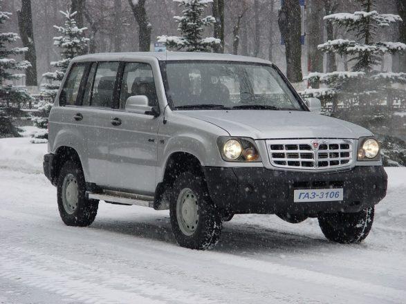 «ГАЗ-3106» «Атаман-2».