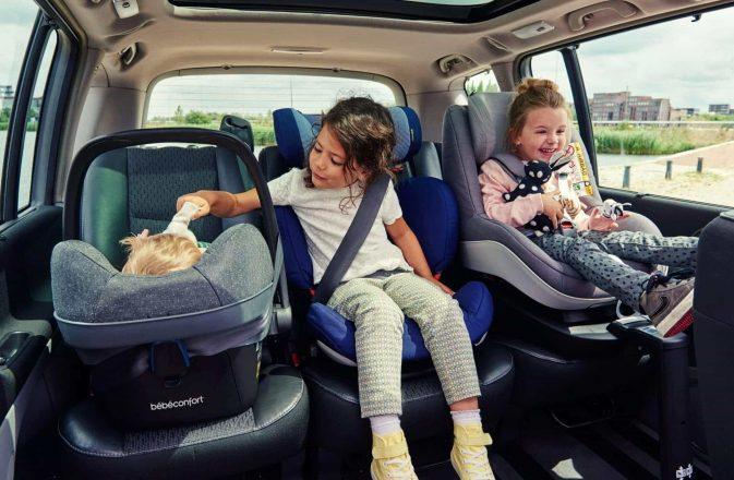 до сколько детское кресло в авто
